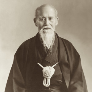 Morihei_Ueshiba_Portrait